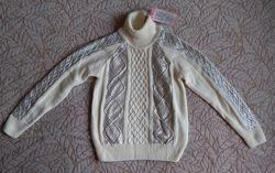 Стильный свитерок на девочку. Рост 110-116см