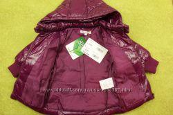 Детская курточка пуховик фиолетовая. ТМ Nucleo Италия.
