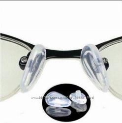 Носоупоры силиконовые носовые упоры для очков