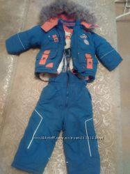 Зимний костюм на мальчика на 2-4года.