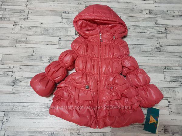 Яркая демисезонная курточка Baby Line р. 92