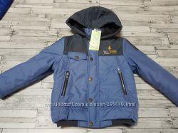Теплая демисезонная курточка Бемби