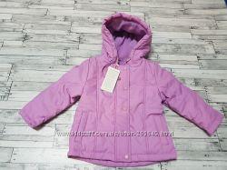 Очень теплая демисезонная курточка Бемби р. 74-92