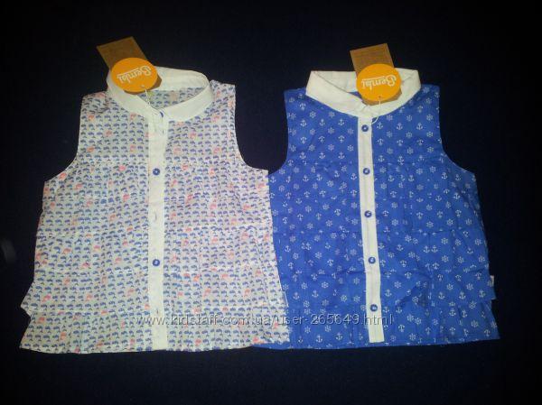 Бомбезные рубашечки Бемби р. 104-134