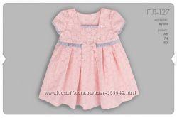 Красивенькое дизайнерское платье Бемби р. 68-80