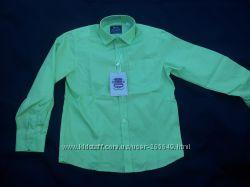 Яркая салатовая рубашечка BoGi р. 110-146
