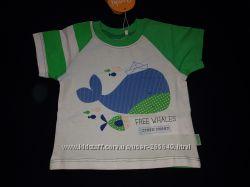 Классная футболочка Бемби р. 74-98