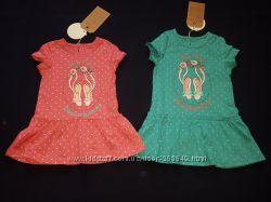 Трикотажные платьяца Бемби р. 74-98