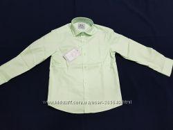 Светло-салатовая рубашка BoGi р. 110-146