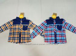 Фланелевые рубашечки Бемби р. 86-140