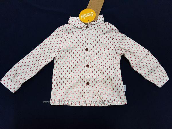 Классная рубашечка Бемби р. 74-140