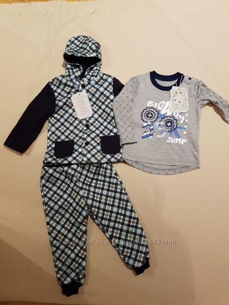 Классный тепленький костюм Zironka р. 86-98