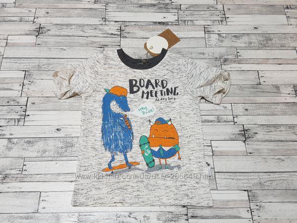 Прикольная футболка Бемби р. 98-140