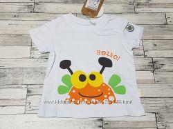 Классная футболка Бемби р. 80-86