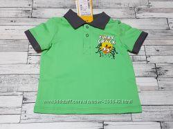 Яркая футболка Бемби р. 74-92