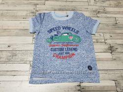 Прикольная футболочка Бемби р. 80-98