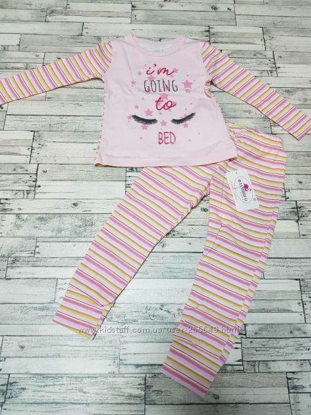 Хорошенькая пижамка Фламинго р. 98-116