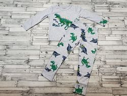 Прикольная пижамка Фламинго р.98-116