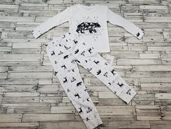 Прикольная пижамка Фламинго р.92-116