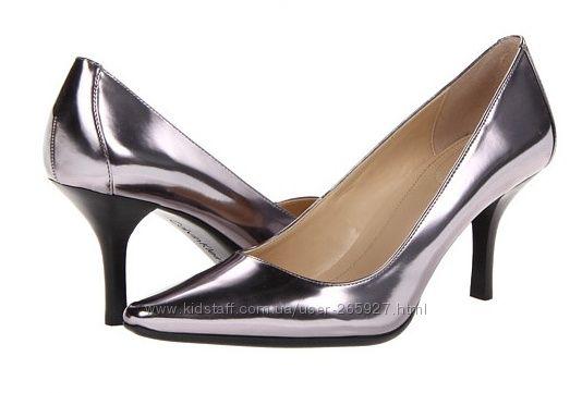 Кожаные туфельки Calvin Klein размер 7