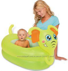Надувной детский бассейн Слоник Bestway