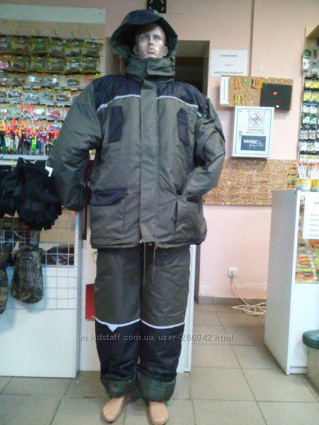 Новый теплый зимний костюм. Охотарыбалка.