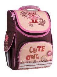 Рюкзак школьный каркасный Kite 501 Cute Owls для девочек K15-501-4S