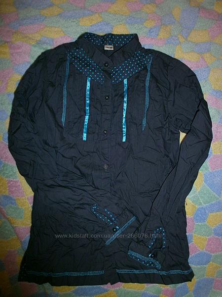 Оригинальная, школьная блузочка как новая