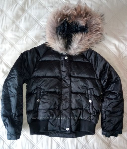 Детская куртка пуховик GEOX на 10 лет