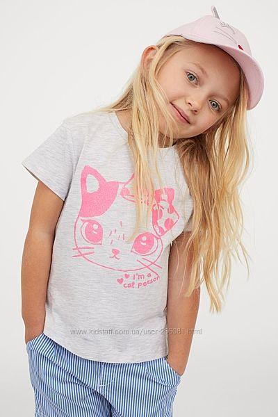 Футболка, футболочка, для девочки, футболки, для девочек, летняя одежда, hm