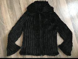 Куртка, курточка, шуба, вязаная, кролик, в&rsquoязана, із кроля. Розмір L, Xl