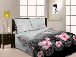 Двуспальное постельное бельно напрямую от производителя.