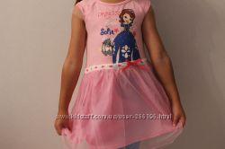 Платье с Софией фирма Nova 4-5 лет