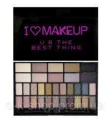 Палетка теней Makeup Revolution  I Heart Makeup Theme Palette - U R the bes