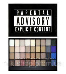 Палетка теней Makeup Revolution  I Heart Makeup Slogan Palette Explicit Con