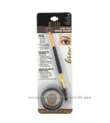 Помада для бровей Milani Stay Put Brow Color -01 Soft Brown 04 Brunette