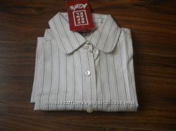 Хлопковая  рубашка фирмы Stefanel