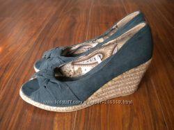 Легкие текстильные туфли 39р