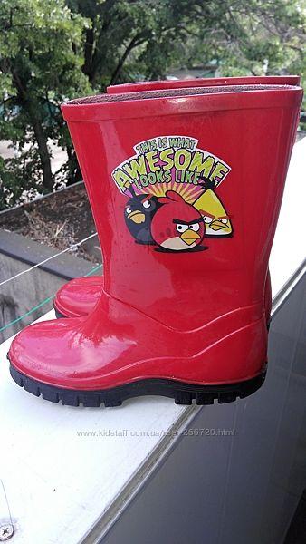 Резиновые сапоги Angry Birds