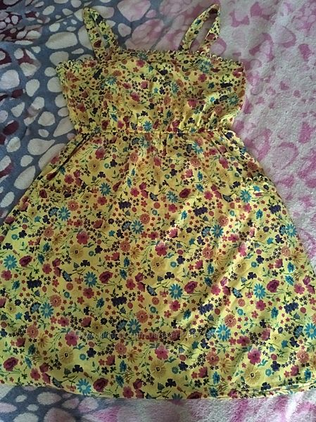 Красивое летнее платье 44-48