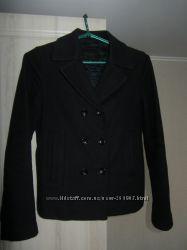 Шерстяное пальто, С , синий, Распродажа