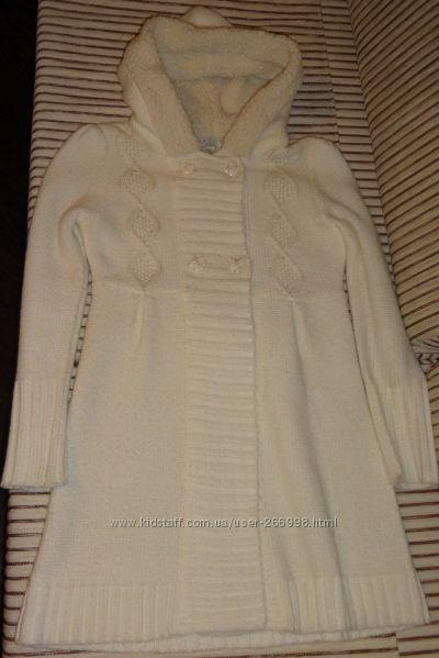Вязаное пальто-кардиган est. 1989 Place, на 10-12лет