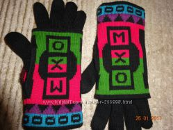 Перчатки для девочки MXO, размер 5, большерка на 12 лет