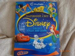 Коллекция карточек в альбоме Чарівний Світ Disney