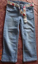 Велюровые джинсы, брючки и капри, рост 140-145см