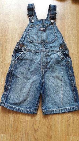 Джинсовый комбинезон-шорты OshKosh размер 3т