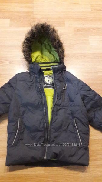 Зимняя курточка на пуху рост 104