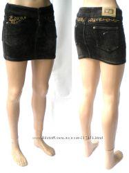 Вельветовая юбка-мини, распродажа