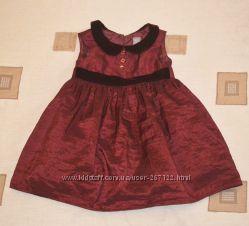 Платье нарядное TU р. 86-92 см 1. 5-2 года.