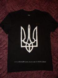 футболка с гербом Украины